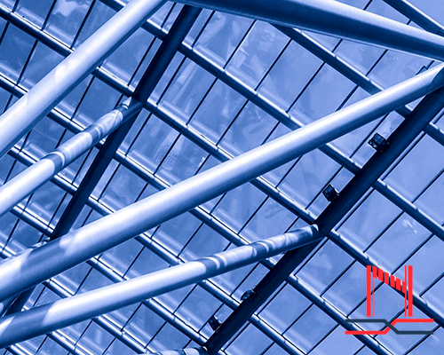 Construcción de una estructura de acero