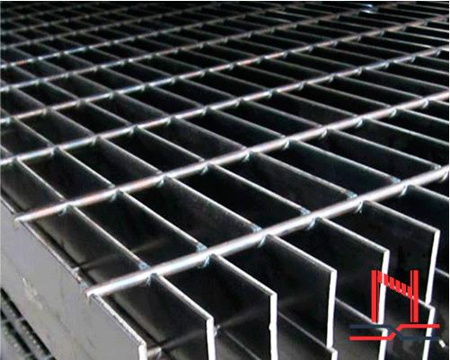Uso de solera para rejilla electroforjada