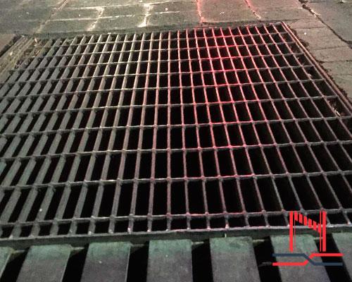 aplicaciones rejilla de acero electroforjado