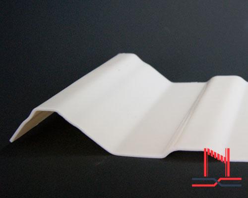 características lámina unicapa pvc